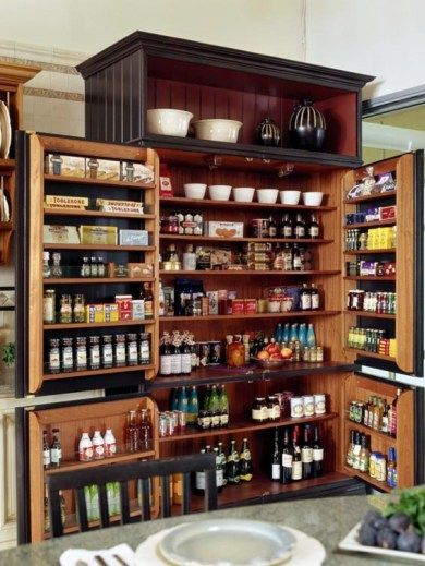 53 Mind-blowing kitchen pantry design ideas #pantrycabinet