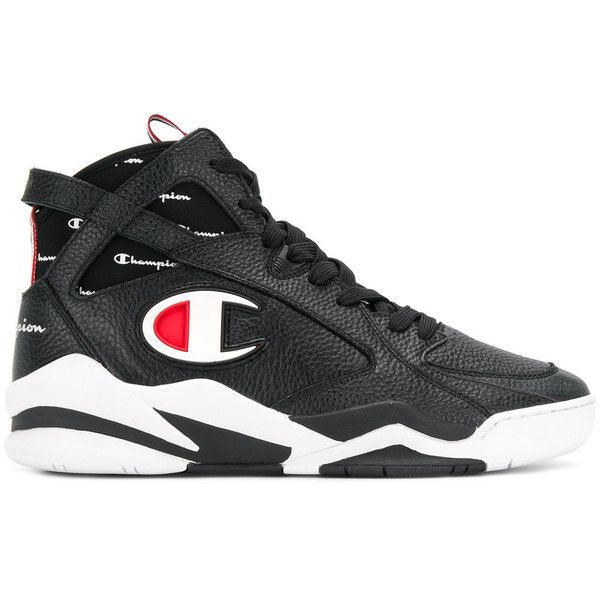 60191fb25bf72 Champion Zone 93 hi-top sneakers ( 202) ❤ liked on Polyvore featuring men s  .
