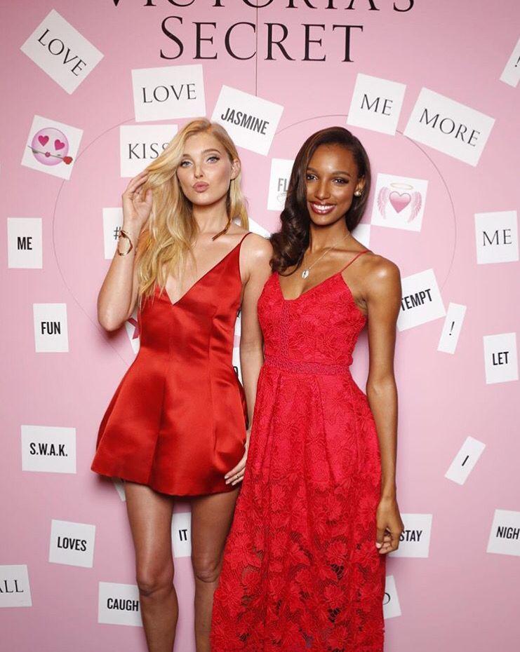 fa7f55eb909e look good in red. by victoriassecret. Elsa Hosk and Jasmine Tookes |  Pinterest: @900ks