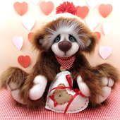 Hazelnut - AJFurtasy - Artist Bears and Handmade Bears