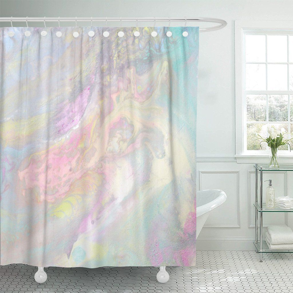 12 Elegant Secrets Of How To Craft Blue And Pink Shower Curtain