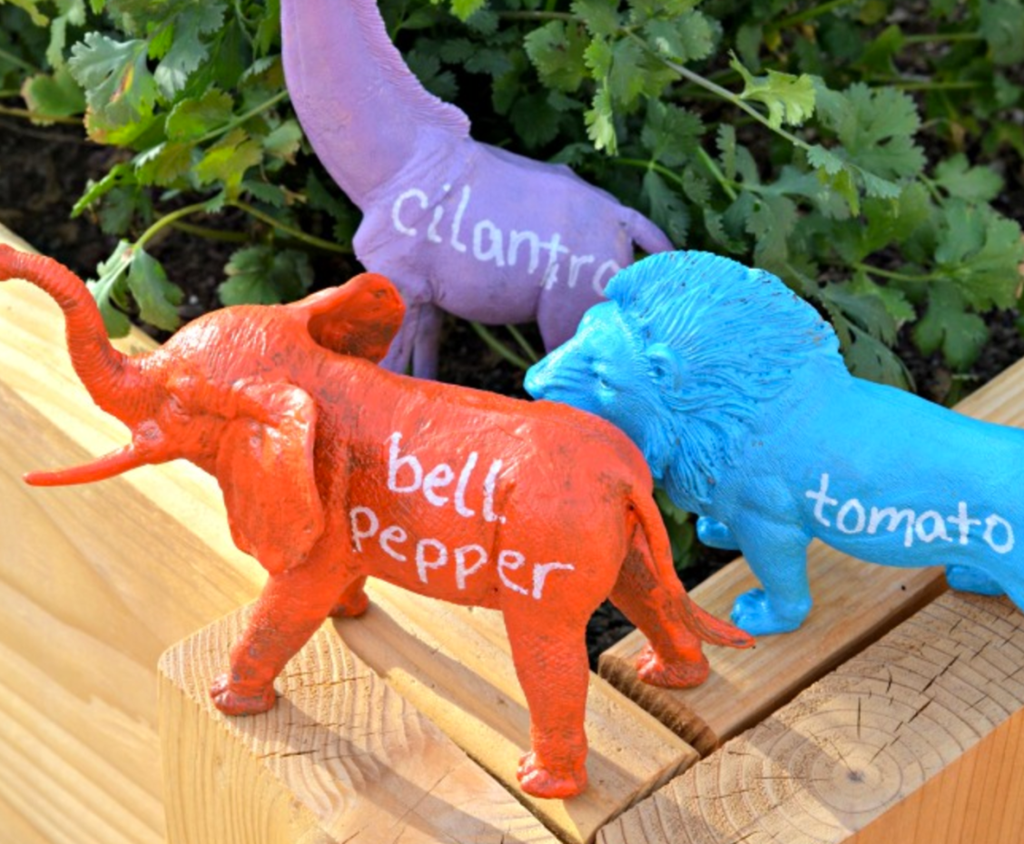 world cutest garden markers