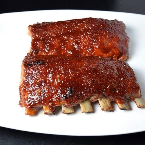How To Make Bbq Ribs In The Oven Healthy Aperture Ribs Recipe Oven Rib Recipes Recipes