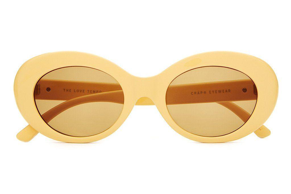 d7ced76856 The Love Tempo - Gloss Sunshine Yellow - w  Mustard CR-39 Lenses -  Sunglasses