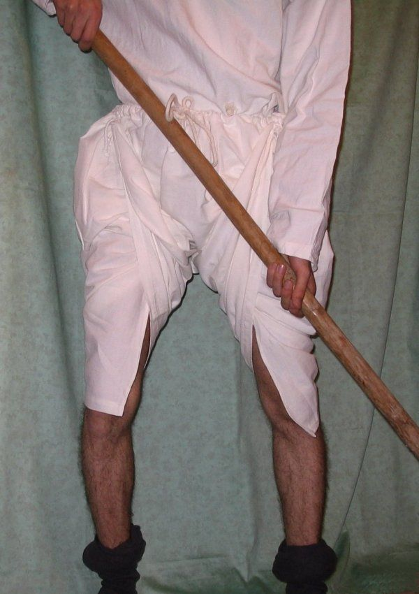 Braies men 39 s underwear 11th century 13th century more pictures carreau arbalete costume - Ropa interior medieval ...