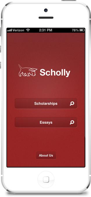 A fabulous App to help find scholarships! For high school