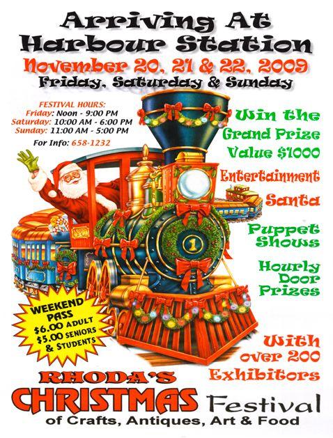 Rhoda's Christmas Festival held at Harbour Station, Saint John, New Brunswick late November each ...