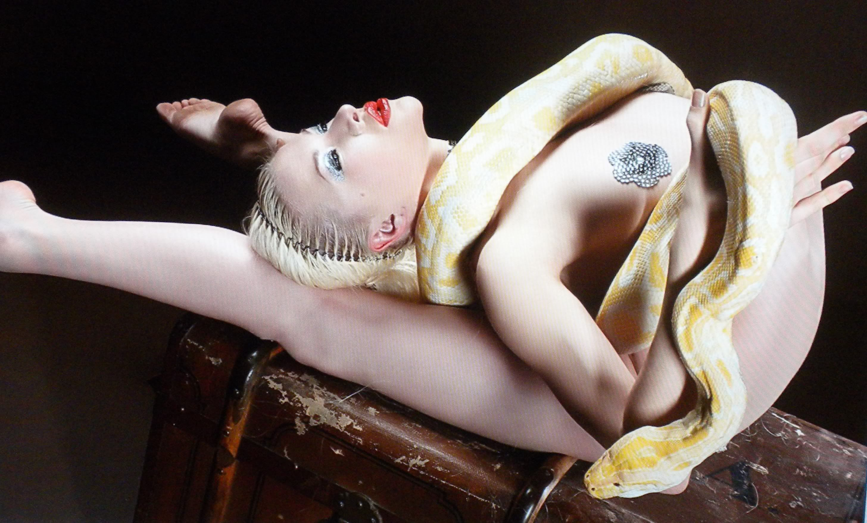 Contortionist zlata nude contortion thank for