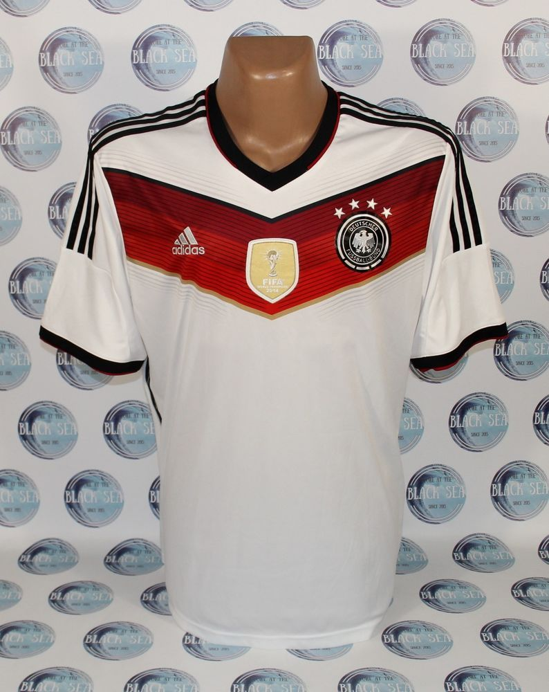 GERMANY NATIONAL TEAM 2014 2015 HOME FOOTBALL SOCCER SHIRT JERSEY ADIDAS XL  MEN  adidas   4d756bac1be5c