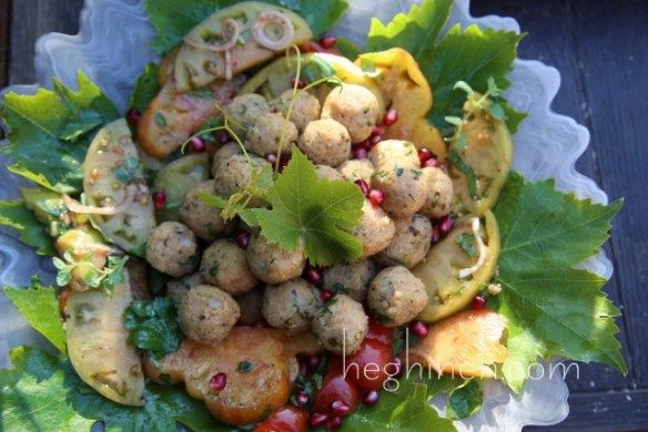 Potato Bulgur Veggie Balls Recipe - Armenian Cuisine