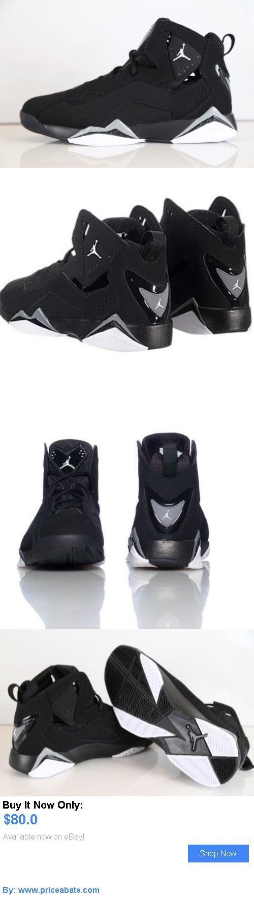 Basketball  Nike Air Jordan True Flight Black White Cool Grey Size ... 102a12073