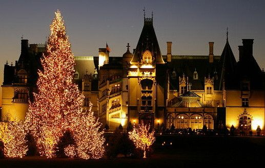 "Now is a good time to plan your Christmas holiday at the George Vanderbilt Estate also known as the ""Biltmore House"". Share the magic ..."