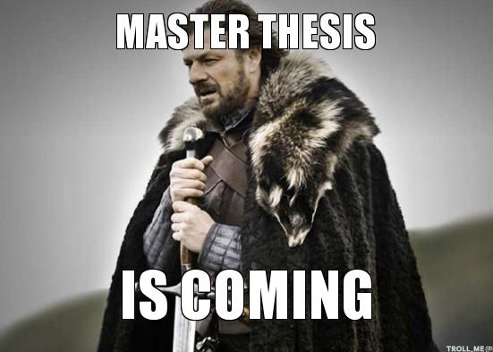 Stark about master thesis | Funny happy birthday meme, Happy birthday meme, Funny thanksgiving memes