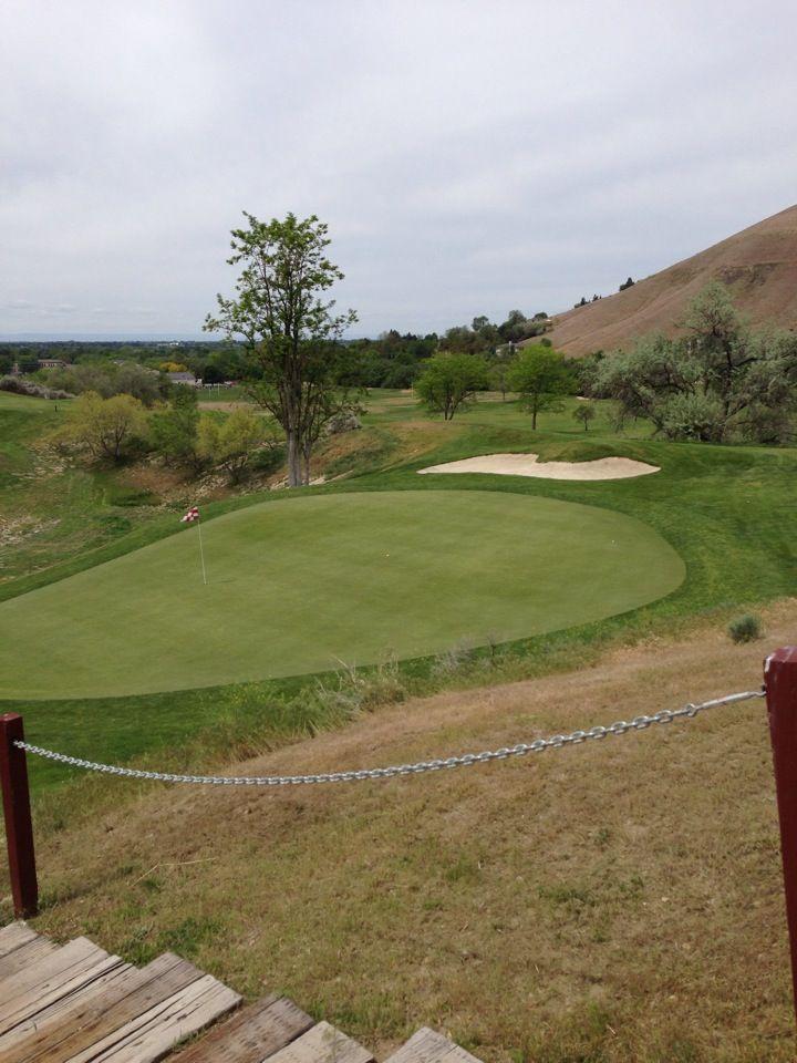 18+ Boise city golf course info