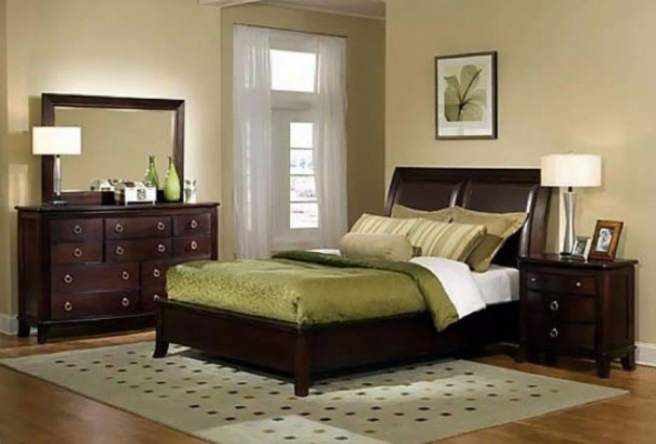 Paint Colors For Bedroom With Dark Furniture In 2020 Bedroom Paint Colors Master Master Bedroom Colors Master Bedroom Paint
