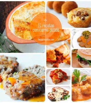 15 recetas con carne picada para toda la familia