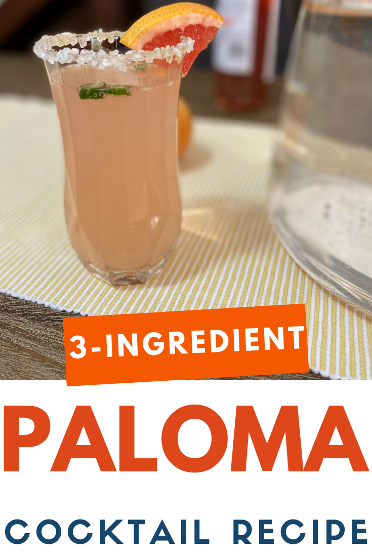 How To Make A Paloma Cocktail Thirsty For Tequila Resep