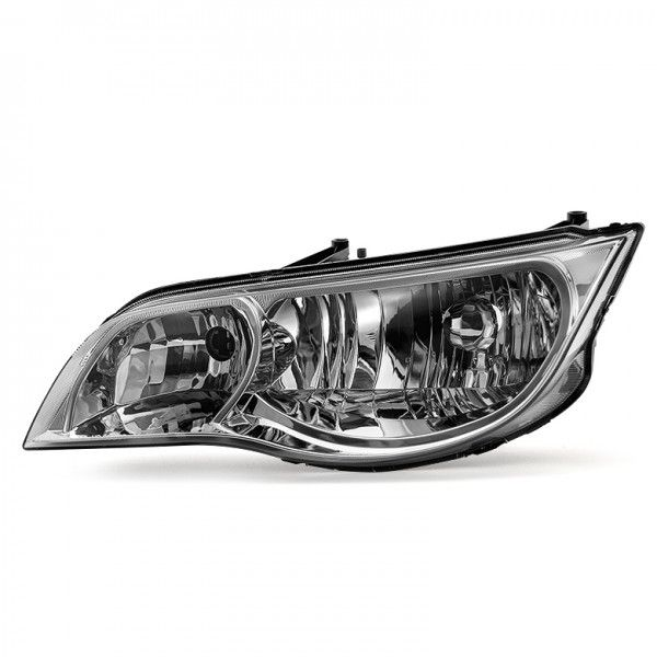Xtune 2003 2007 Ion 2 Door Coupe Headlight Driver Side Only Chrome Saturn Ion Headlight Replacement Headlights Headlights Coupe