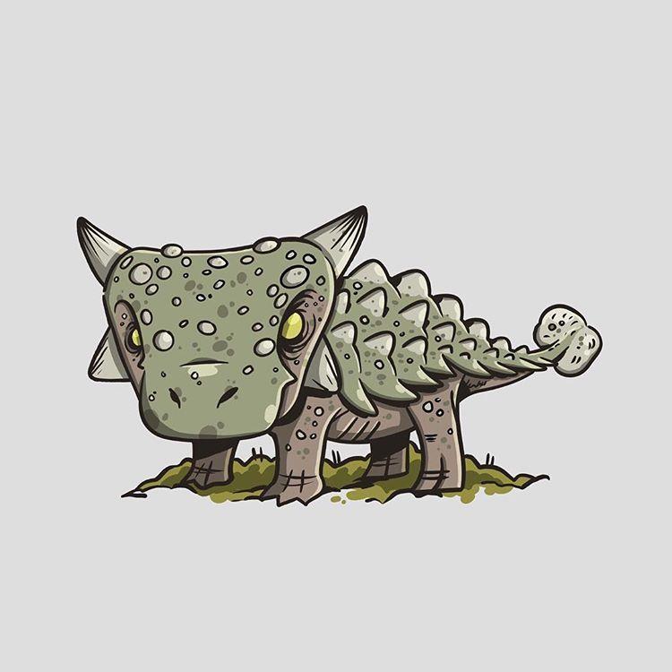 The little biological tank, the ankylosaurus. #ankylosaurus #jurassicworld #jurassicpark #jurassicpark25 #dinosaur #digitalartist #fanart… #dinosaurpics