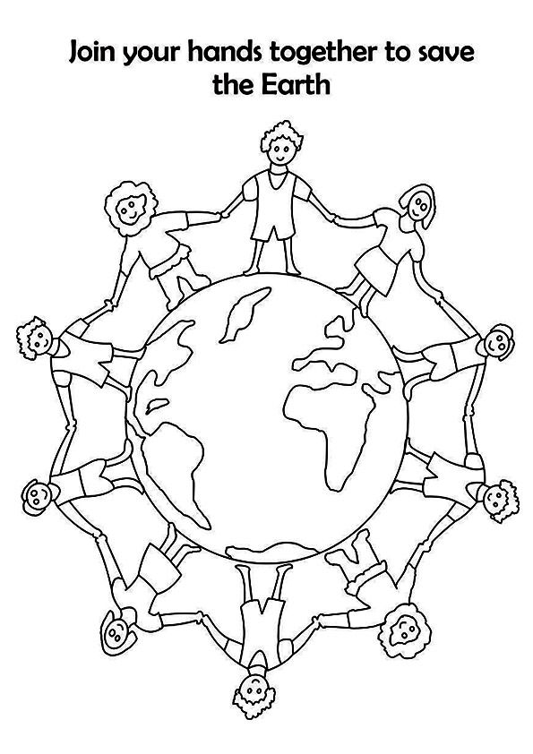 Top 20 Earth Day Coloring Pages For Toddlers Earth Day Coloring