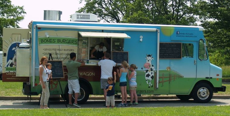 Bones burgerscincinnatis best hamburger food truck