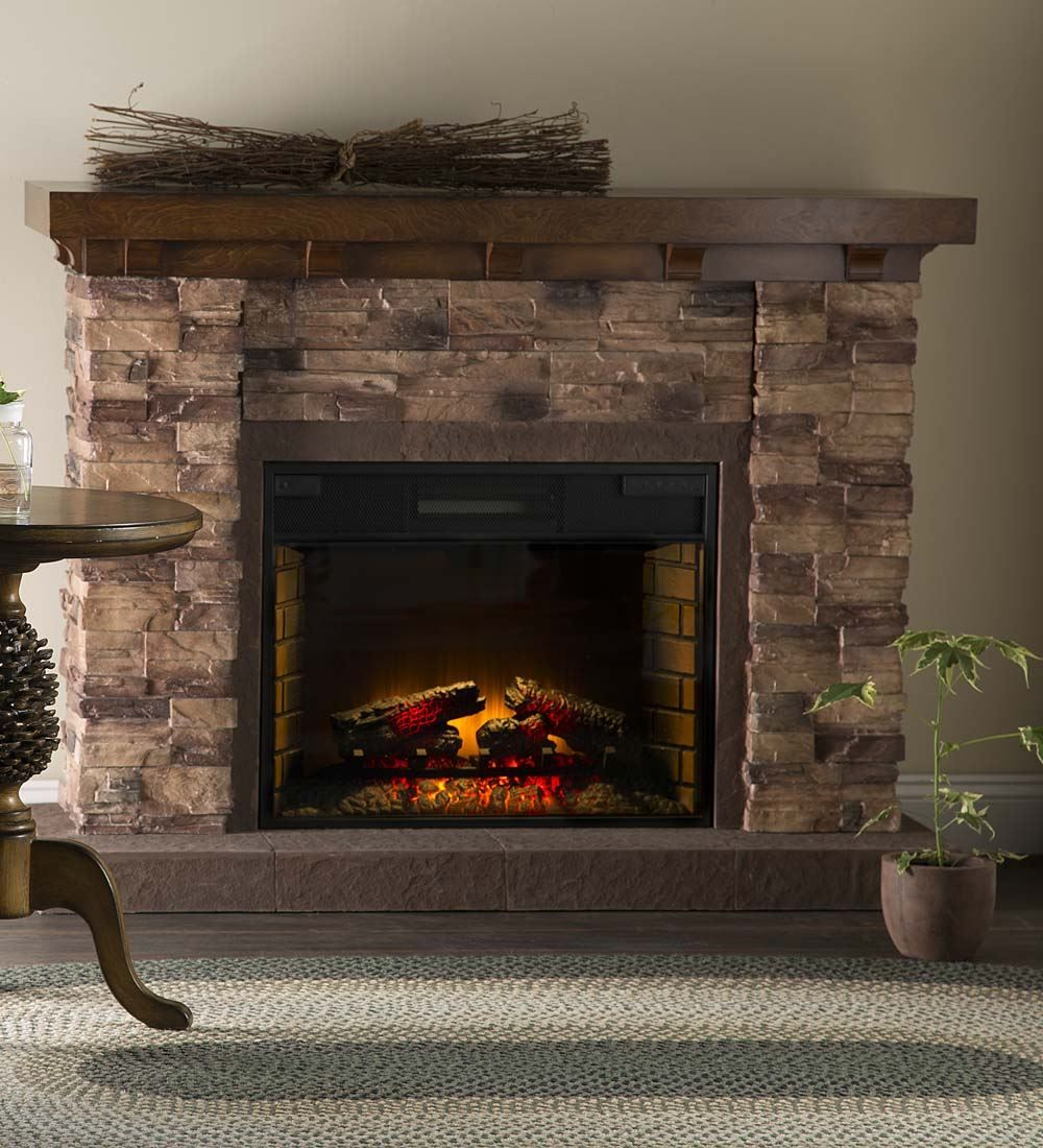 Quartz Infrared Stone Fireplace | Electric Fireplaces ...
