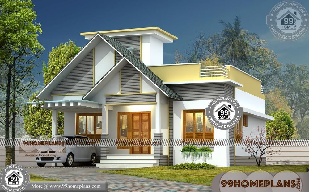 2 Bedroom House Plans 3d Front Elevation Design Ideas ...