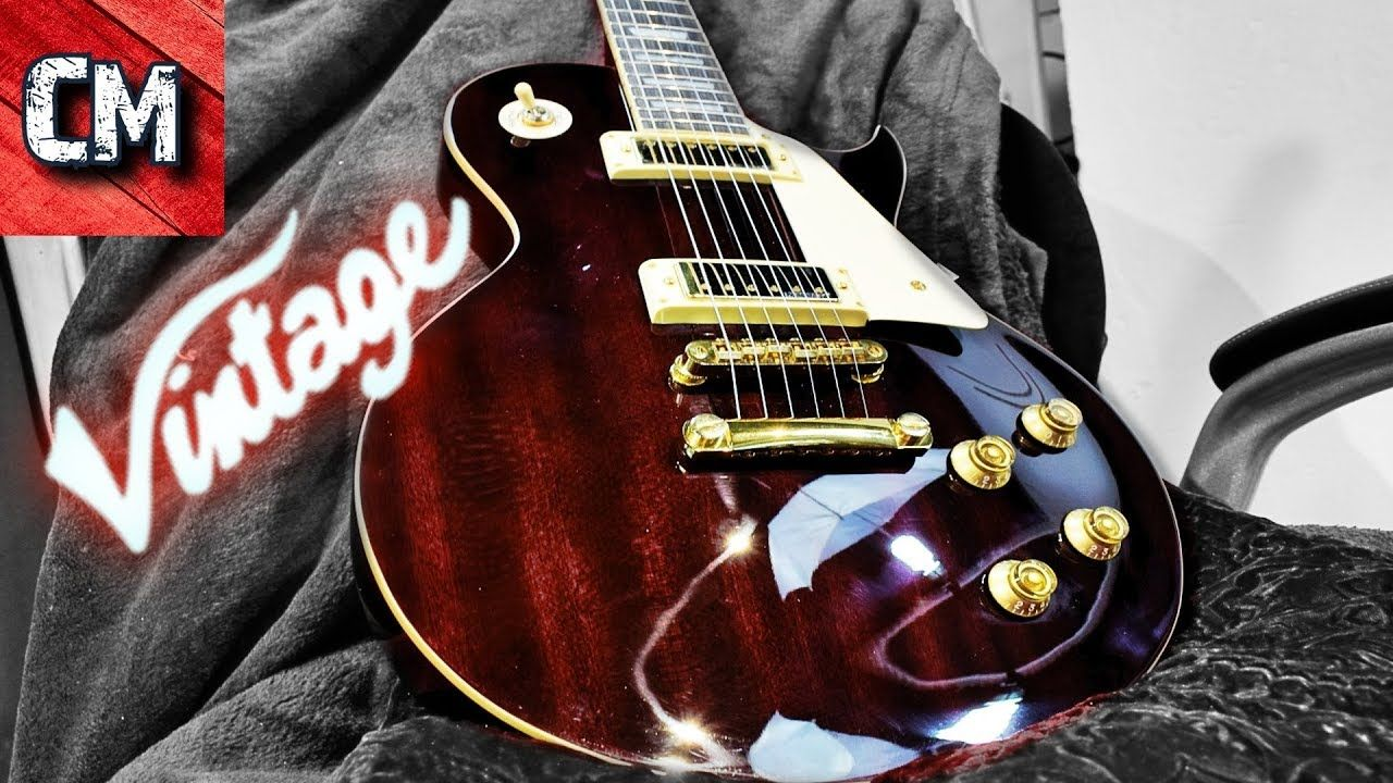 Total Review Vintage V100 Wr Vintage V100 Vintage Guitar