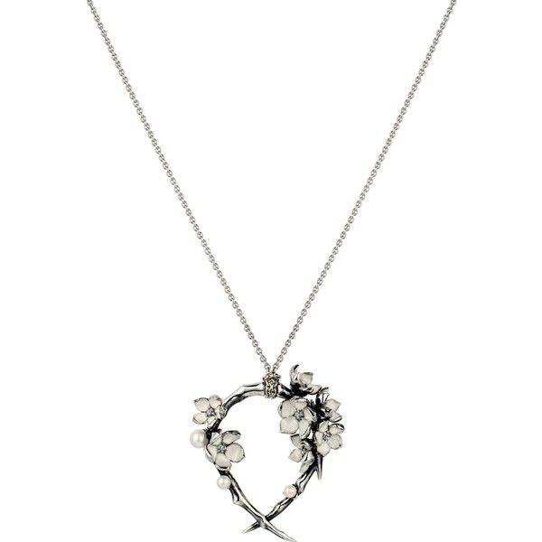 Shaun Leane Women's Diamond Cherry Branch Necklace of 18 cm YaWYgyD