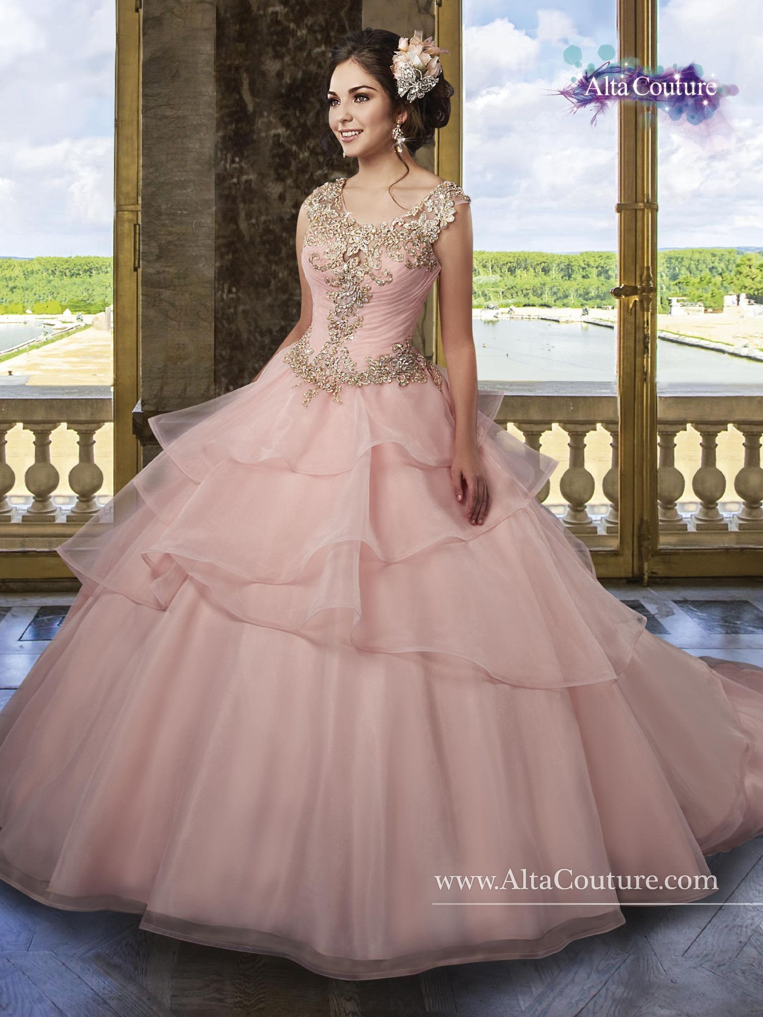 Maryus bridal alta couture quinceanera dress style t sweet