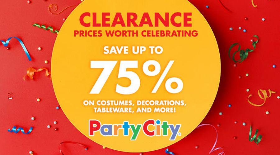 Online Clearance! Save up to 75 on costumes, decorations, tableware - party city store costumes