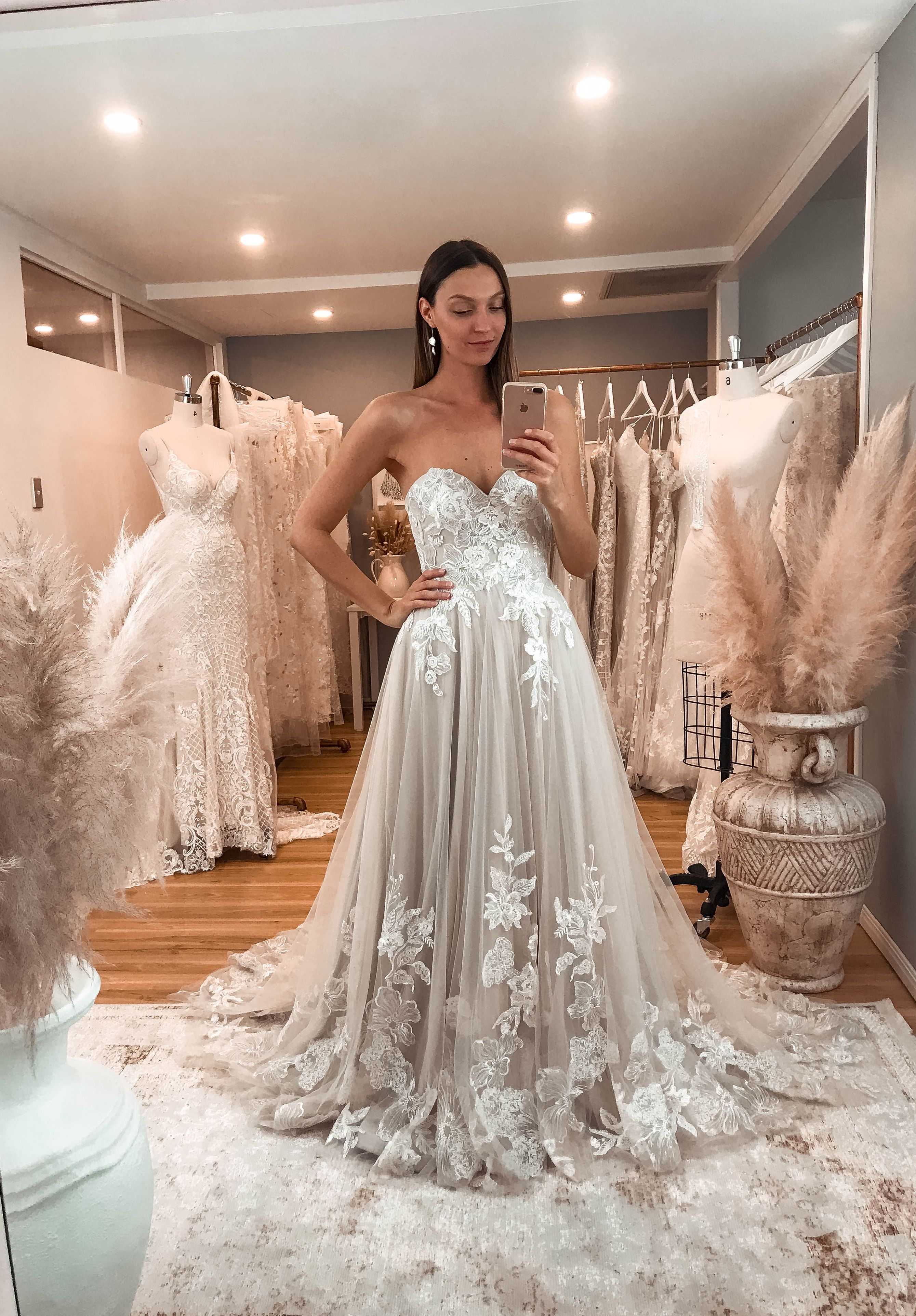 The Haven Gown By Madi Lane Bridal Wedding Dresses Off White Wedding Dresses Wedding Dress Champagne