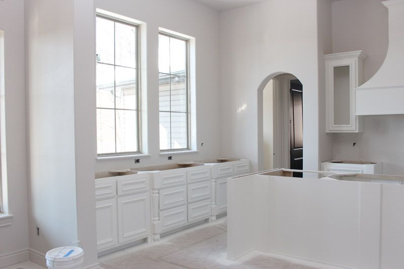 Sherwin Williams West Highland White Kitchen Cabinets