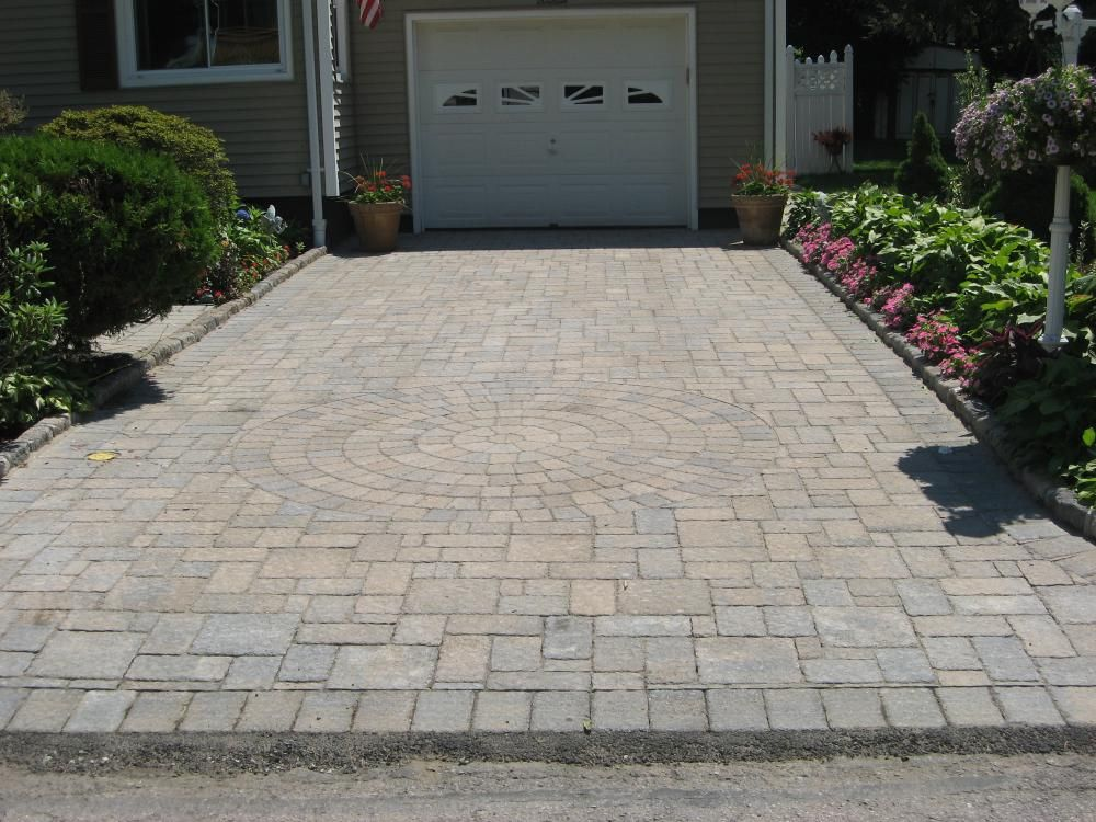 paver patio ideas limestone paver driveway for great paving algotradingpodcastcom