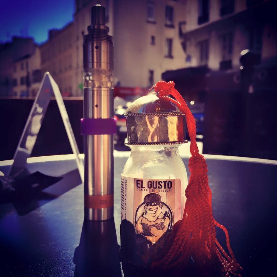 """E-liquide Tabac gourmand """"EL GUSTO"""" de la gamme DEALER DE SAVEURS... Arôme aux notes de Tabac et de dattes. Falcon 10ml Disponible en 0 - 1,5 - 3 et 6mg de nicotine/ml. Fabriqué en France"""