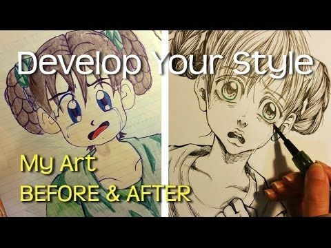 How To Develop Your Own Drawing Style My Art Before And After Fashion Drawing Drawings Drawing Artist
