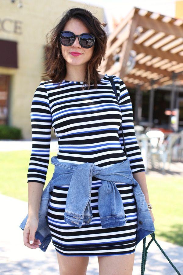 2f89e3ea2f1 Trina Turk Striped Dress via  mystylevita