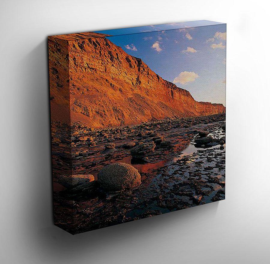Hunt Cliff - #Cleveland Canvas Art Print
