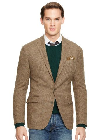 c92d1be2ca Morgan Tick-Weave Sport Coat - Polo Ralph Lauren Sport Coats ...