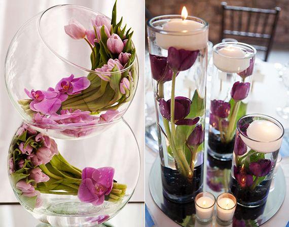 Pin von karmen auf tischdeko  Blumendeko hochzeit