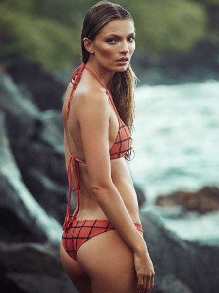 Acacia 'stitched Bottom Li Mui'Shop Waikoloa Hing Bikini Swimwear b67vfygY