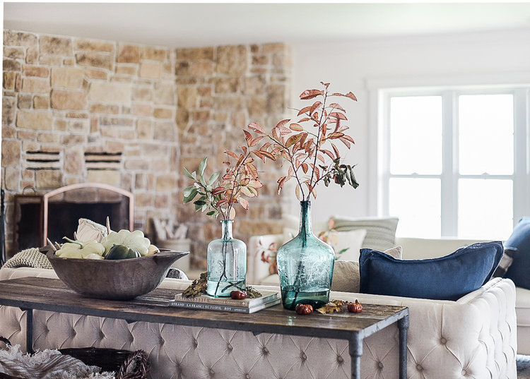 Fall Decorating Ideas: Farmhouse Living Room images