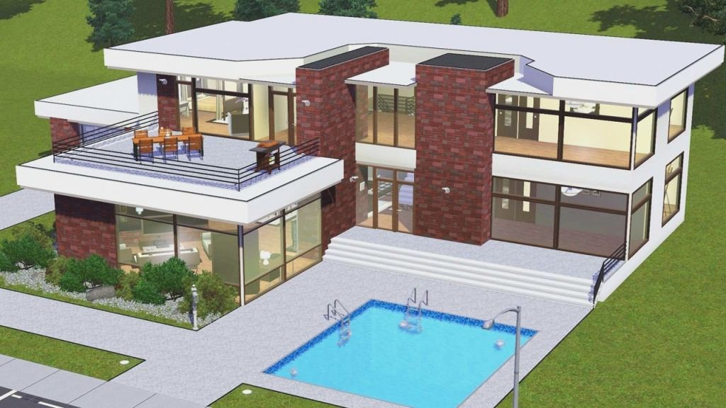 Modern House Floor Plans Sims 3 Home Sweatwww.homesweat.website