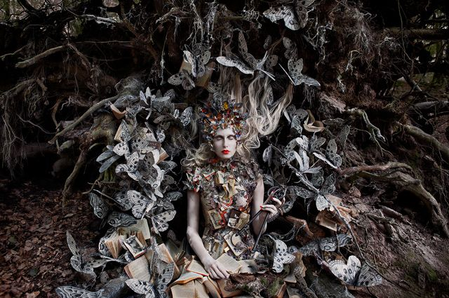 Kirsty Mitchell Photography - The Vintage Notebook