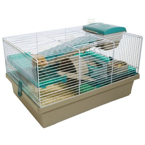 Rosewood Pet Pico Xl Translucent Teal Fully Furnished Small Animal Home Small Pets Hamster House Hamster Cages