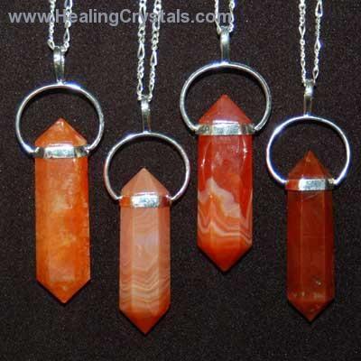 Crystal pendants carnelian 6 sided dt pencil pendant carnelian crystal pendants carnelian 6 sided dt pencil pendant carnelian healing crystals aloadofball Choice Image