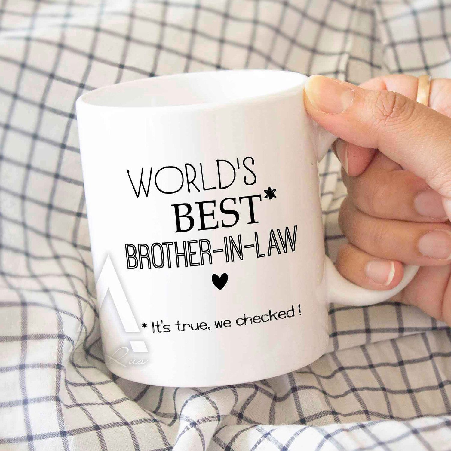 Gifts For Brother In Law Laws Worlds Best Lawcoffee Mug Birthday Gift Mugwedding MU509 By ArtRuss On