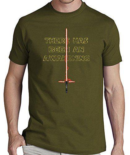 LaTostadora Camiseta la fuerza despierta camisa de los hombres - Camiseta hombre clásica, calidad premium Army Talla L #camiseta #starwars #marvel #gift