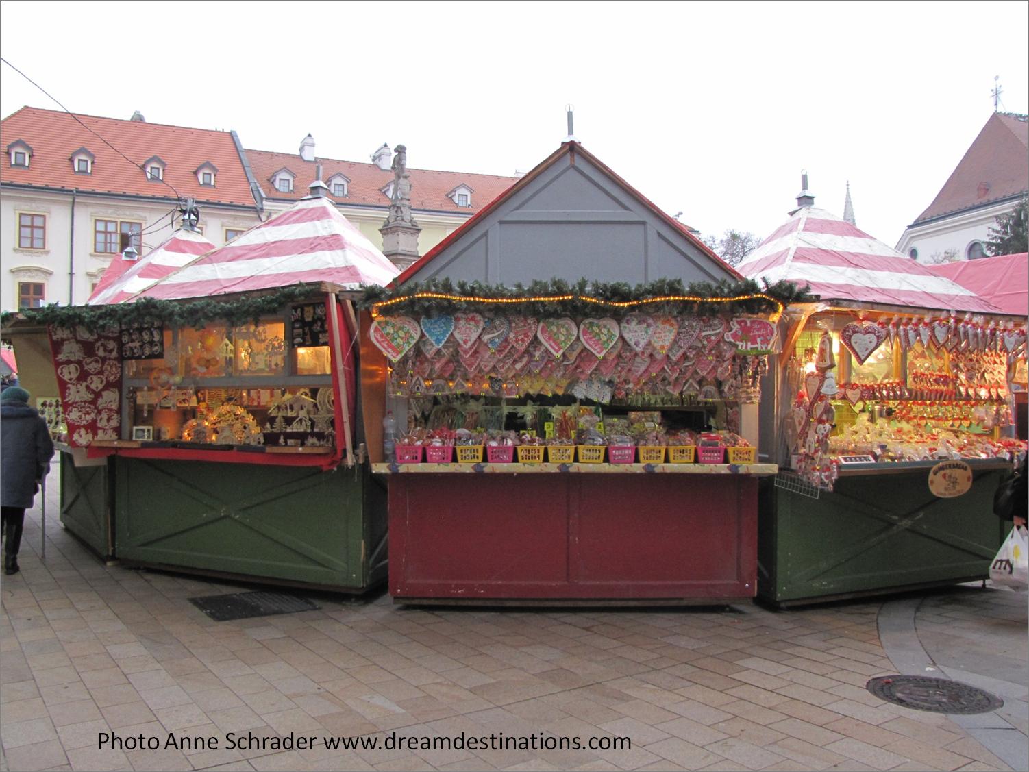 Christmas market Bratislava Slovakia