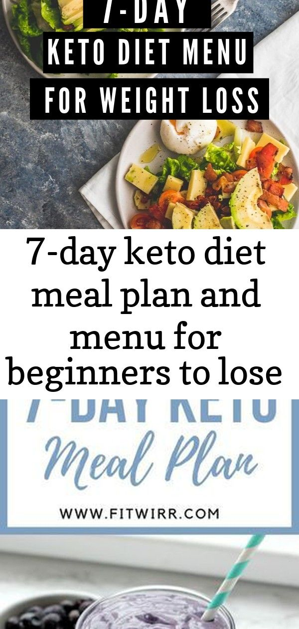 7-day keto diet meal plan and menu for beginners to lose weight 223 #plantbasedrecipesforbeginners